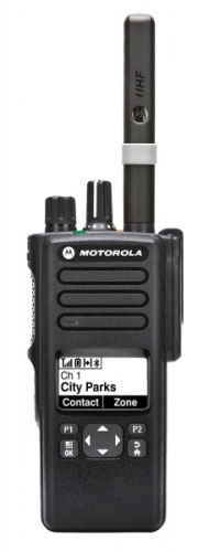 Motorola DP4600 digital  two way radio