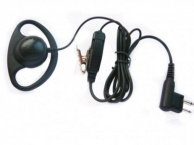 Motorola CP040 / GP300 / GP340 D-Shape Earpiece and Microphone