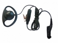 Motorola DP3400 & DP3600 D Shape Earphone / Microphone