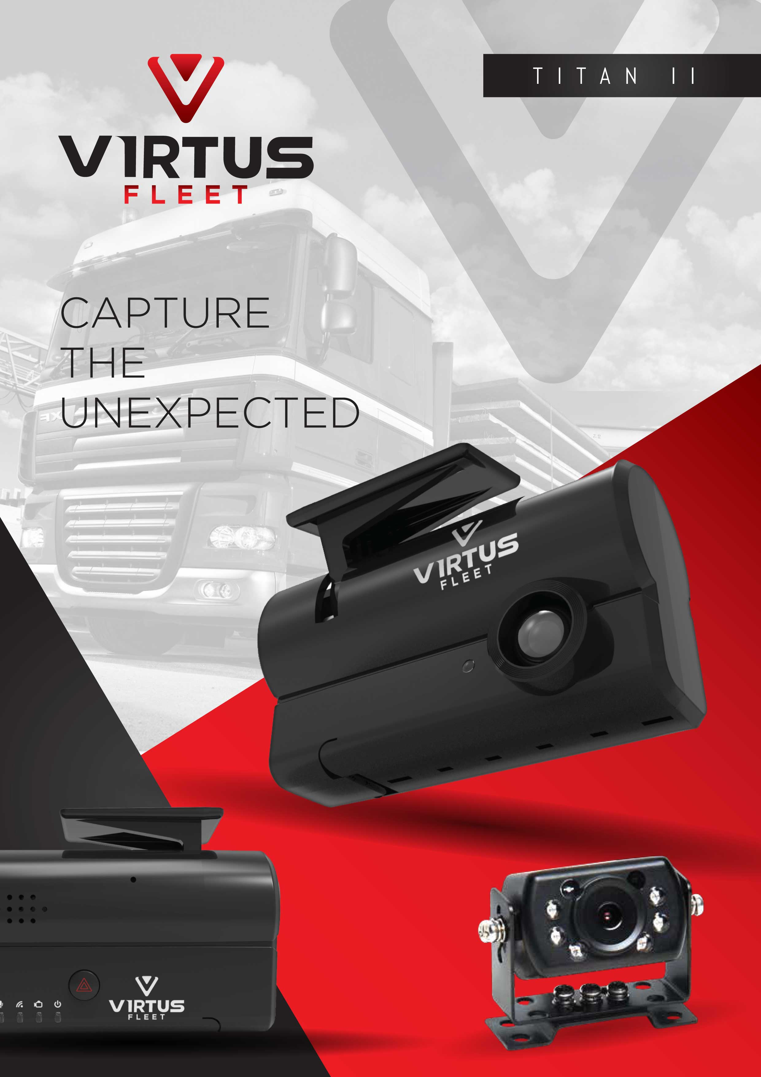 Virtus Titan 2 dashcam data sheet p1