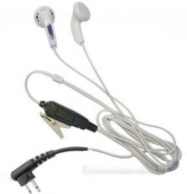 Icom F15, F25, F22, MP3 Style Covert Earpiece
