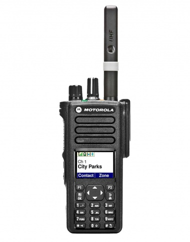 Motorola DP4800 digital  two way radio