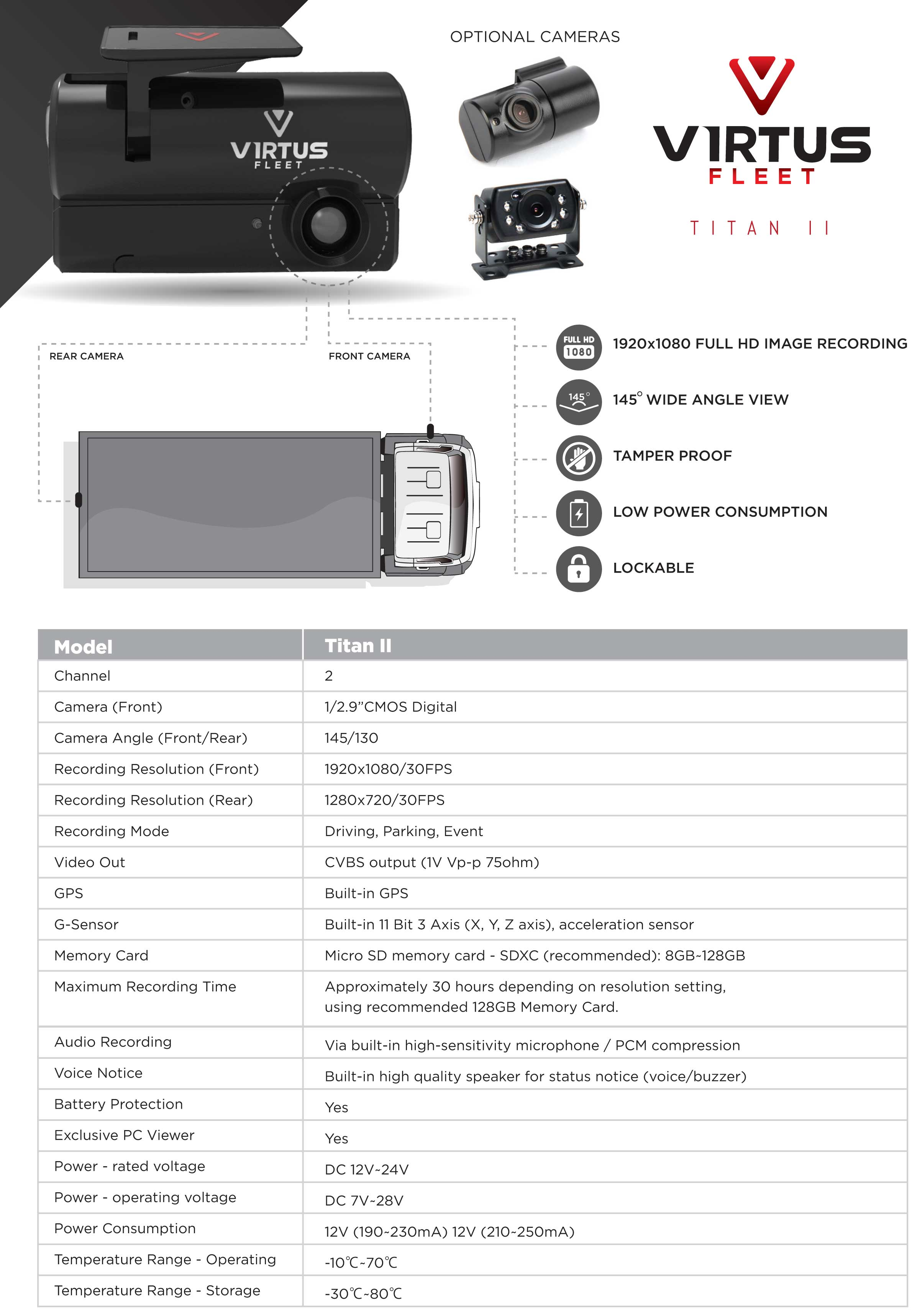 Titan 2 data sheet