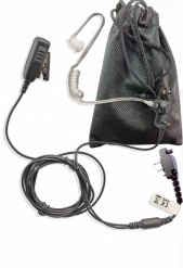 Icom 2 wire covert earpiece, long cabling