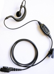 Hytera PD705,PD785, PT580 G shape earpiece