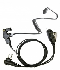 Motorola CP040, GP300, DP1400 2 Pin Covert Earpiece