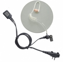 Icom IC-F2000 / F1000 covert earpiece