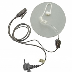 Sepura police earpiece acoustic tube covert