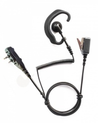 Icom earpiece G shape for F2000 waterproof radios